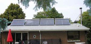 солнечные коллектора на крыше
